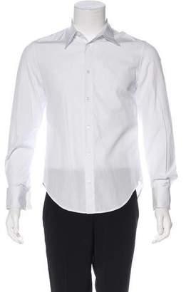Alexander McQueen Striped French Cuff Shirt