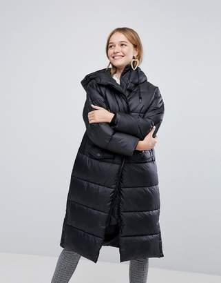Monki Padded Longline Coat