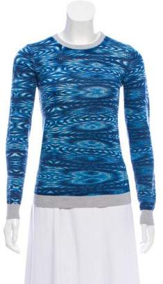 Gryphon Printed Wool Sweater