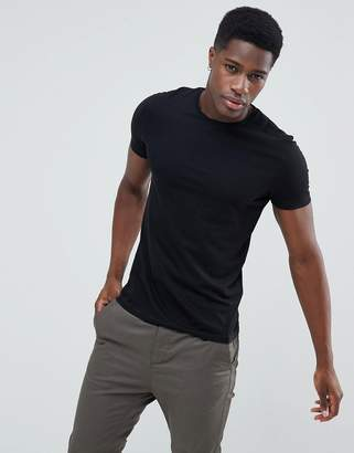 Celio T-Shirt In Black