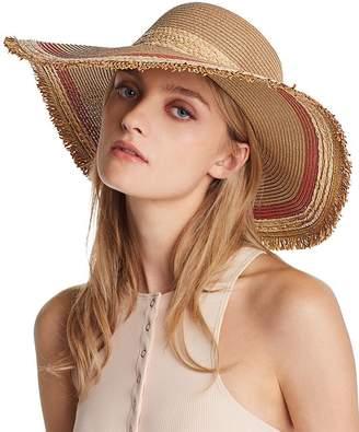 August Hat Company Color-Block Detail Floppy Sun Hat - 100% Exclusive
