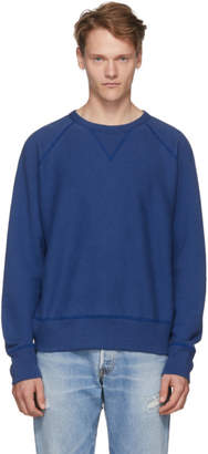 Rag & Bone Blue Racer Sweatshirt