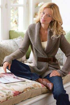 Soft Surroundings Country Weekend Sweater