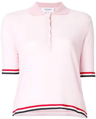 Thom Browne relaxed fit polo shirt