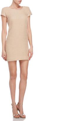 Milly Chloe Woven Tweed Dress