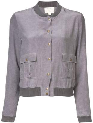 Nicole Miller press stud bomber jacket