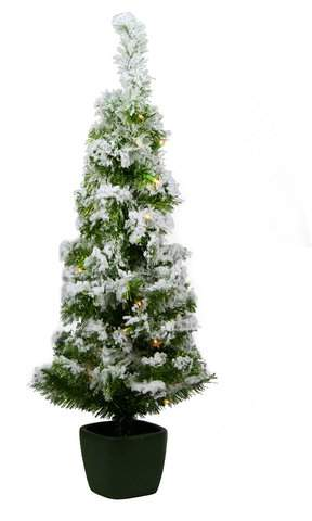 Northlight 3.5' Green Artificial Christmas Tree wi...