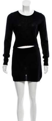 A.L.C. Wool Cutout Dress