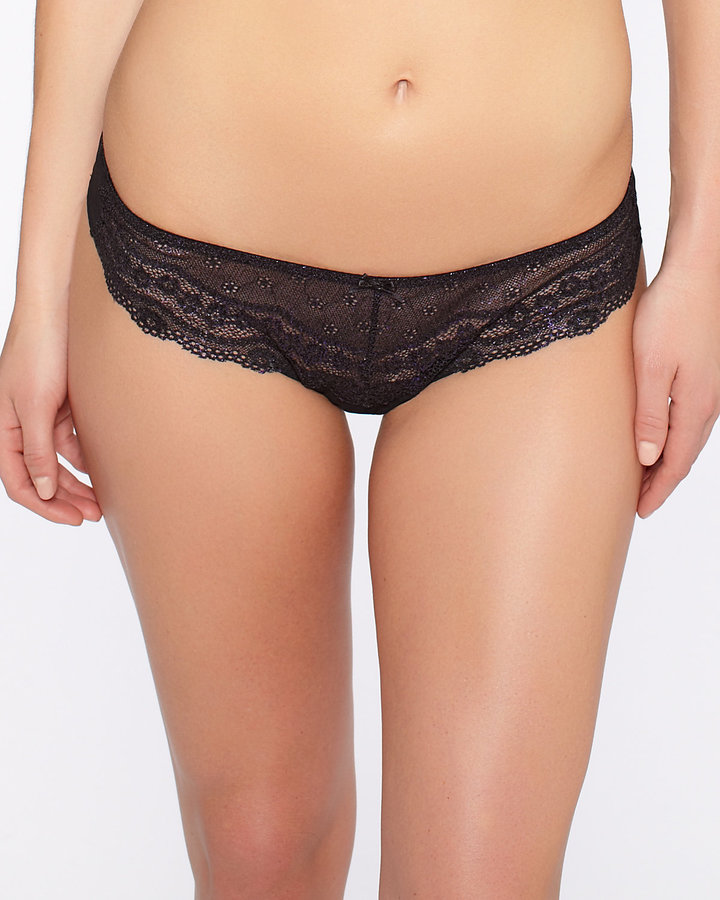 Betsey Johnson Eyelet Thong