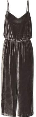 Madewell Velvet Jumpsuit