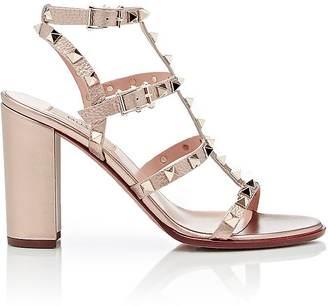 Valentino Women's Rockstud Triple-Strap Sandals $1,075 thestylecure.com