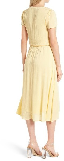 Women's Wayf Blouson Midi Dress 4