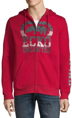 Ecko Unlimited Unltd Hooded Midweight Fleece Jacket