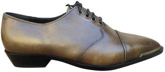 Diesel Leather Derbies