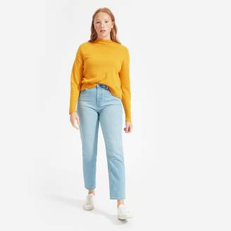 Everlane The Cashmere Crop Mockneck