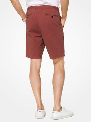 Michael Kors Cotton-Twill Shorts
