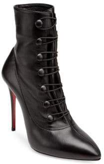 Christian Louboutin French Tutu 85 Leather Booties