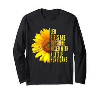 LEO GIRLS ARE SUNSHINE MIXED HURRICANE Sunflower Shirt