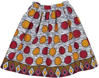 Stella Jean Multicolour Cotton Skirt