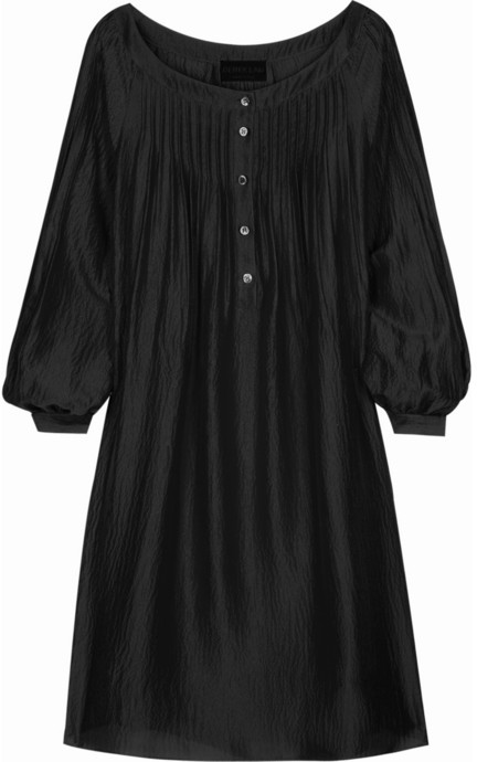 Derek Lam Silk-satin smock dress