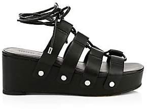 Rebecca Minkoff Women's Iven Gladiator Platform Wedge Sandals