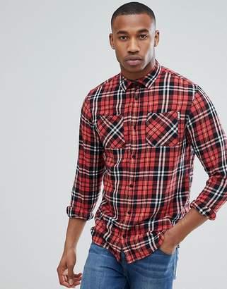 Jack and Jones Originals Regular Fit Check Shirt