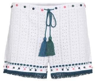 Talitha Eyelet cotton shorts