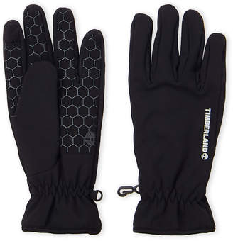 Timberland Black Touchscreen Stretch Gloves