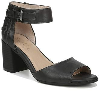 Naturalizer SOUL Carmen Ankle Strap Heeled Sandal - Wide Width Available
