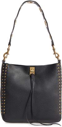 Rebecca Minkoff Small Darren Deerskin Leather Feed Bag