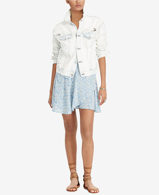 Denim & Supply Ralph Lauren Wrap Skirt $79.50 thestylecure.com