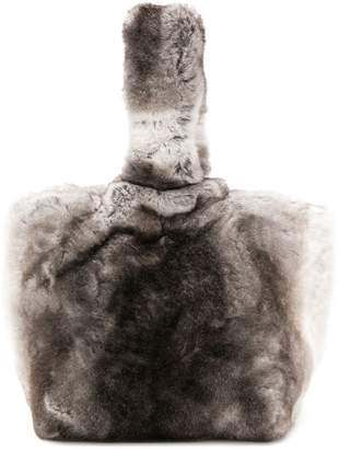 Max Mara fur shoulder bag