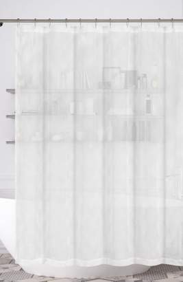 Duck River Textile Zoe Embroidered Metallic Shower Curtain