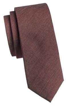 Calvin Klein Silk-Blend Slim Tie