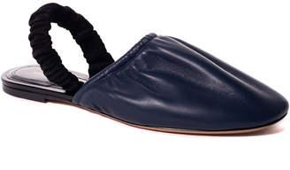 Celine Leather Slingback Ballerina Flat