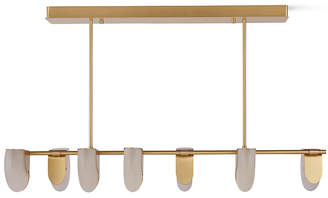Design Within Reach Magnify LED Chandelier, Bronze