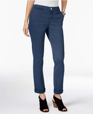 Style&Co. Style & Co Petite Chino Boyfriend Pants, Created for Macy's