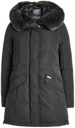 Woolrich Eskimo Down Parka with Fur-Trimmed Hood