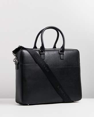 "Mathias 13"" Leather Briefcase"