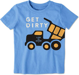Life is Good Get Dirty Crusher T-Shirt