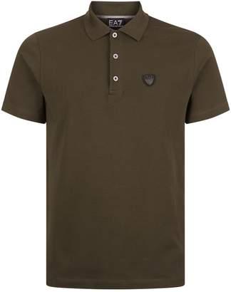 Giorgio Armani Ea7 Logo Back Polo Shirt
