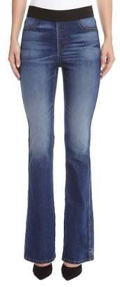 Karen Kane Pull-On Stretch Bootcut Jeans