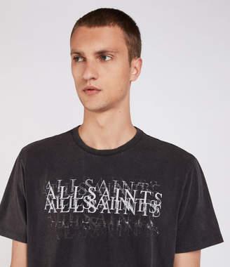 AllSaints Imprinted Crew T-Shirt