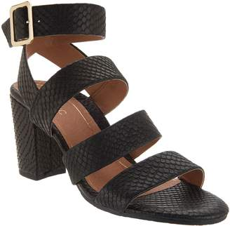 f9eb67220ac at QVC · Vionic Suede Block Heel Sandals - Blaire