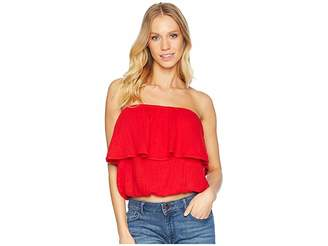 Michael Stars Double Gauze Blouson Tube Top