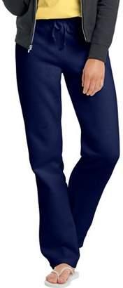 Hanes W550 Ecosmart Cotton-Rich Women Drawstring Sweatpants Size Large, Deep Navy