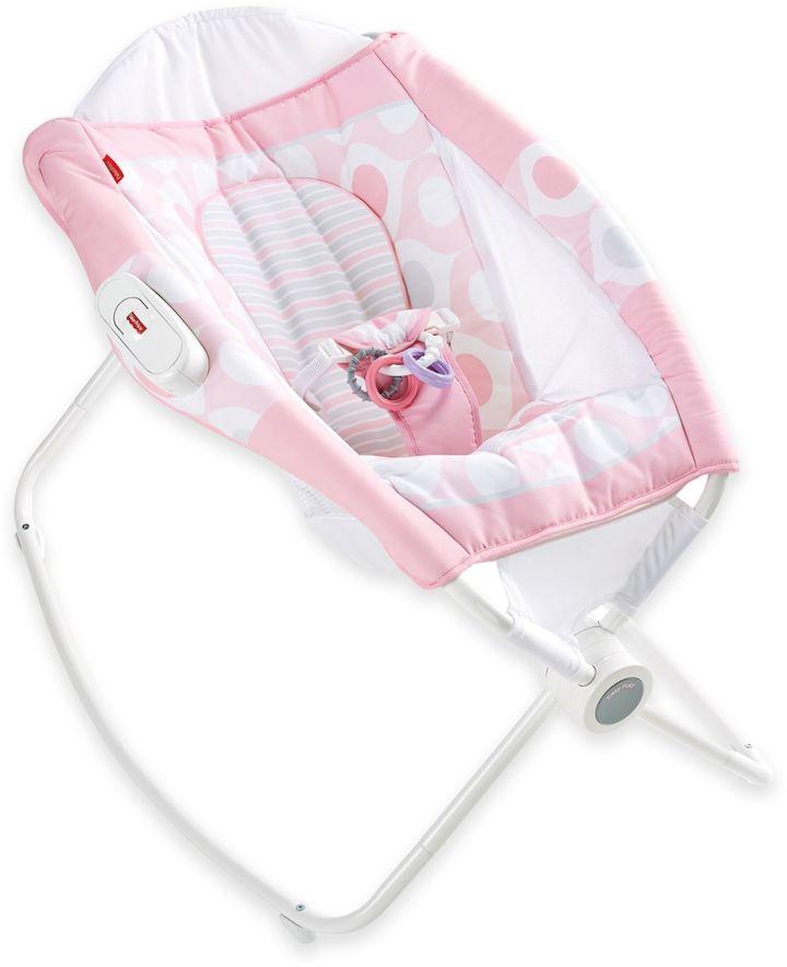 Fisher-Price® Newborn Rock 'n PlayTM Sleeper in Pink EllipseTM