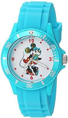 Disney Women's Minnie Mouse' Quartz Metal and Plastic Casual Watch