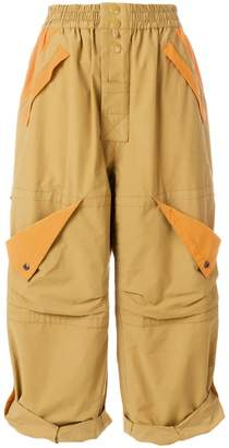 Marc Jacobs (マーク ジェイコブス) - Marc Jacobs wide leg cargo trousers