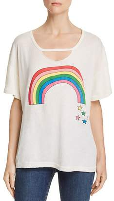 Wildfox Couture Rainbow Stars Tee